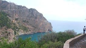 碳海角Bejaïa 免版税图库摄影
