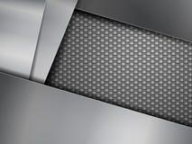 碳纤维背景 免版税库存图片