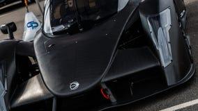 碳纤维赛车 免版税库存图片