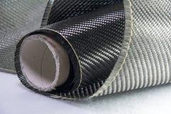 碳纤维凯夫拉尔背景 库存照片