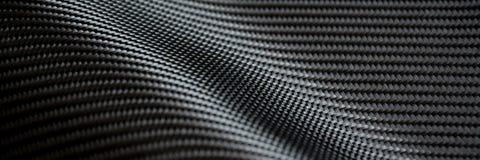 碳纤维综合原材料 库存图片