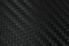 碳纤维贴纸纹理  豪华黑材料 免版税图库摄影