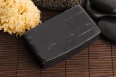 碳肥皂 免版税库存图片