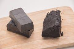 碳肥皂 免版税库存照片