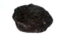 碳采煤矿块 免版税库存图片