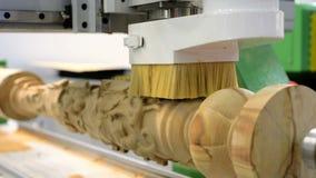 碾碎木产品现代CNC机械中心 股票录像