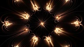 磁场高分辨率prefectly使成环的英尺长度  库存例证