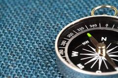 磁性指南针透视图  免版税图库摄影
