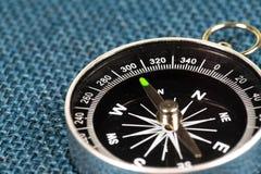 磁性指南针透视图  库存图片