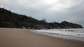 磁性海岛海滩,马掌海湾 股票录像