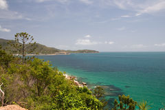 磁性海湾海岛 免版税库存图片