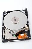 磁盘驱动器丢弃困难被开张的水 免版税图库摄影