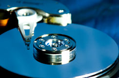 磁盘驱动器困难于 免版税图库摄影