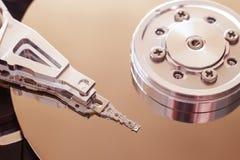磁盘驱动器困难里面个人计算机 数据安全概念 免版税库存照片
