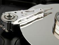 磁盘驱动器困难里面个人计算机 库存图片