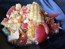 磅玉米 免版税库存照片