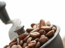 磨咖啡器 免版税库存照片