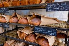磨房咖啡店和面包店 库存照片