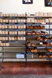 磨房咖啡店和面包店 免版税库存图片