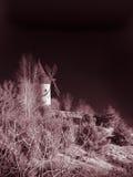磨房在森林 免版税库存照片