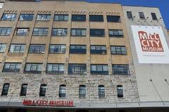 磨房城市博物馆在米尼亚波尼斯 库存照片