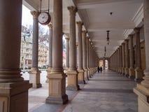 磨房柱廊在卡洛维变化 免版税库存照片