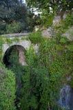 磨房的深谷在索伦托 免版税库存照片