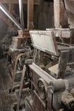 磨房的老机械 免版税库存照片