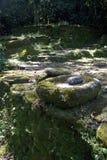 磨石, Ciudad Perdida (失去的城市),哥伦比亚 免版税库存图片