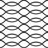 磨碎无缝的结构的黑铬钢 向量例证