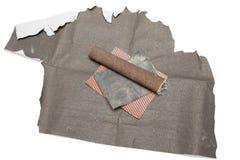 磨蚀铺沙的纸张 免版税库存图片