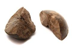 磷钙土矿物 免版税库存图片