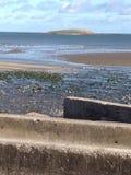 礁海滩在爱尔兰 免版税图库摄影