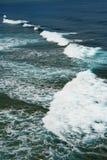 礁石边缘 图库摄影