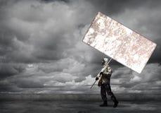 默示录和灾害概念 免版税图库摄影