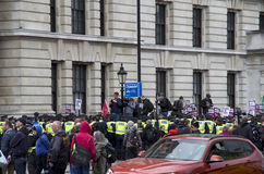 示范在伦敦 免版税图库摄影