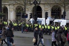 示范在伦敦 免版税库存照片