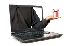礼品互联网 免版税库存照片