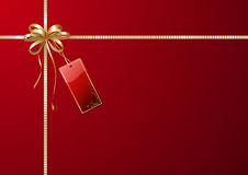 礼品包装材料 免版税库存照片