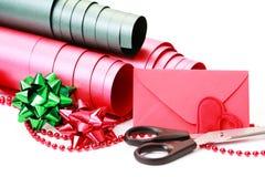 礼品包装 免版税库存图片