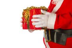 礼品圣诞老人 图库摄影