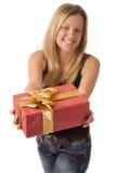 礼品存在 免版税库存图片