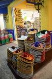 礼品店在墨西哥 免版税库存照片