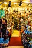 礼品店在Cinarcik镇-土耳其 库存照片
