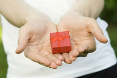 礼品您 免版税图库摄影