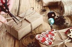 礼品新年度 库存照片