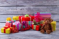 礼品新年度 免版税库存照片