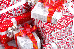 礼品新年度 库存图片