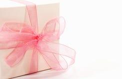 礼品粉红色 免版税库存照片