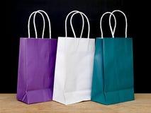 礼品袋子 免版税库存图片